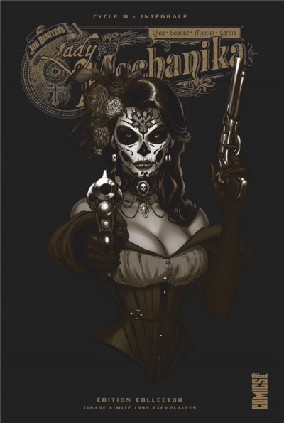 Couverture Lady mechanika - édition collector tome 3