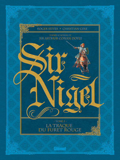 Couverture Sir Nigel tome 2