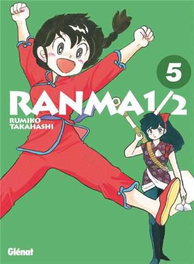 Couverture Ranma 1/2 - édition originale tome 5