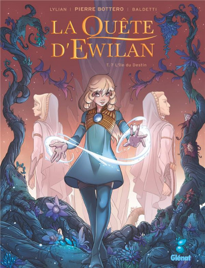 Couverture La quête d'Ewilan tome 7