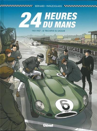 Couverture 24 heures du Mans - 1951-1957