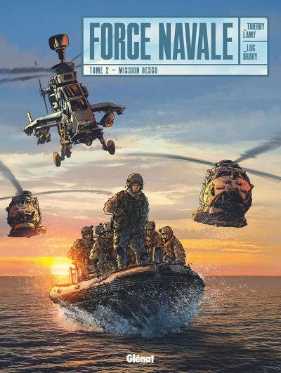 Couverture Force navale tome 2