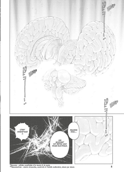 Page 9 Gunnm - last order - édition originale tome 1