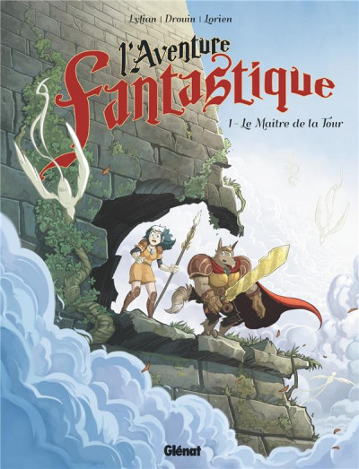 Couverture L'aventure fantastique tome 1