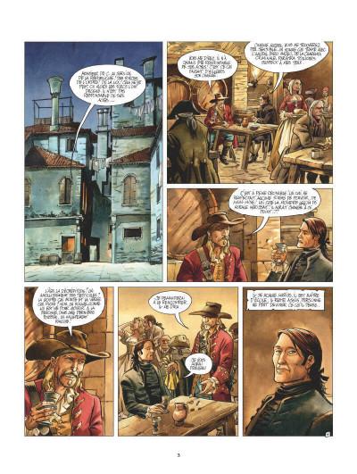 Page 1 Giacomo C. - Retour à Venise tome 2