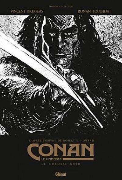 Couverture Conan le Cimmérien - Le colosse noir (édition noir & blanc)