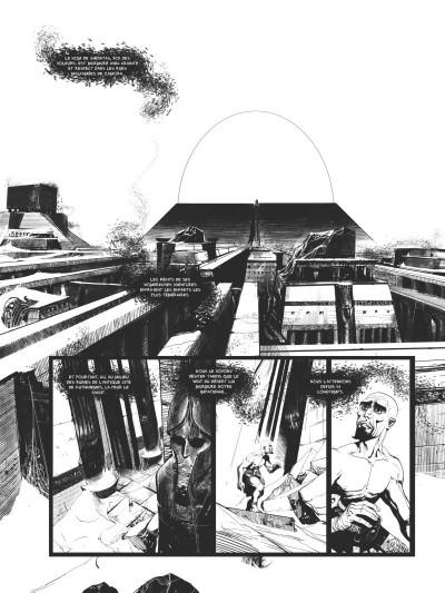 Page 1 Conan le Cimmérien - Le colosse noir (édition noir & blanc)