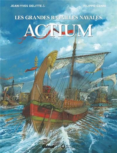 Couverture Les grandes batailles navales - Actium