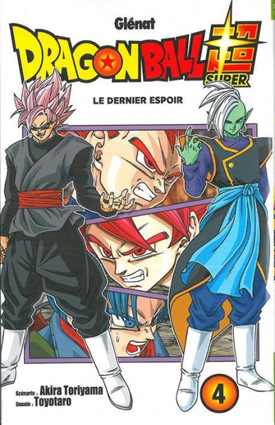 Couverture Dragon ball super tome 4