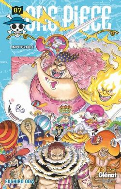 Couverture One piece tome 87