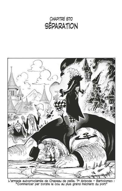 Page 8 One piece - édition originale tome 87