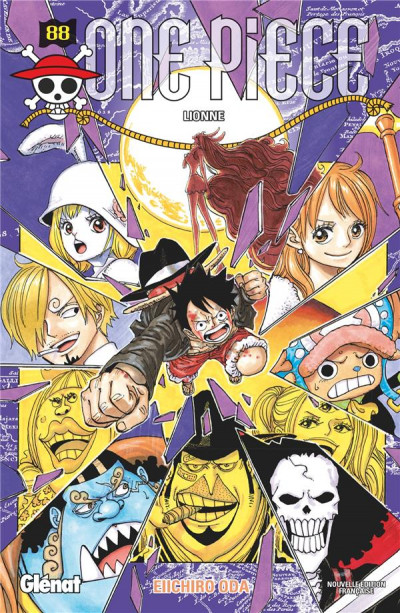 Couverture One piece tome 88