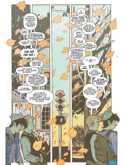 Page 3 Riverdale présente Betty et Veronica tome 1