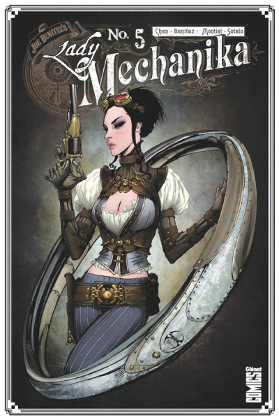 Couverture Lady Mechanika tome 5