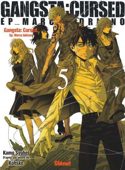Couverture Gangsta cursed tome 5