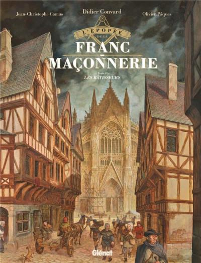 Couverture L'épopée de la franc-maconnerie tome 2