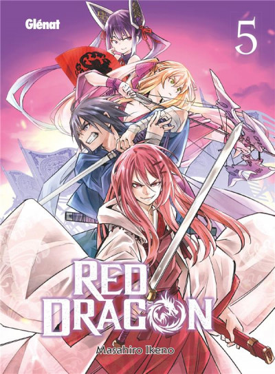Couverture Red dragon tome 5