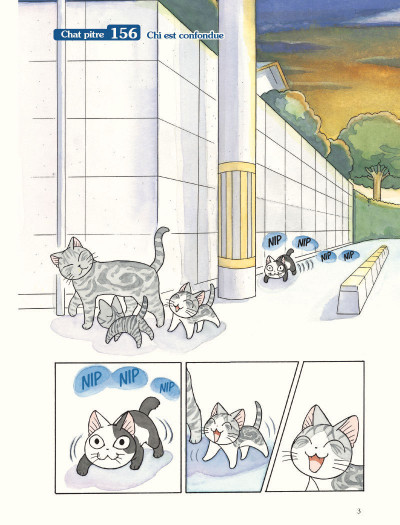 Page 1 Chi - une vie de chat grand format tome 18