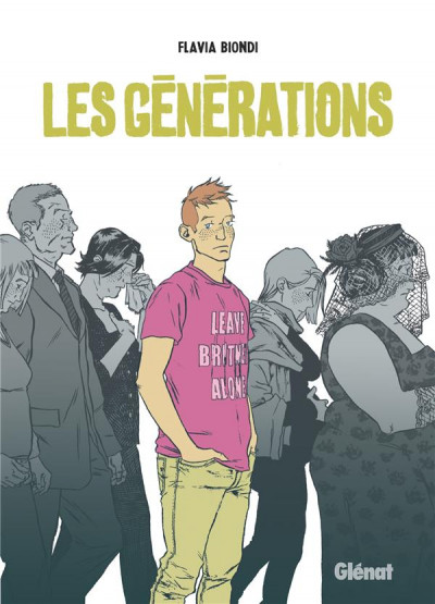 Couverture Les générations