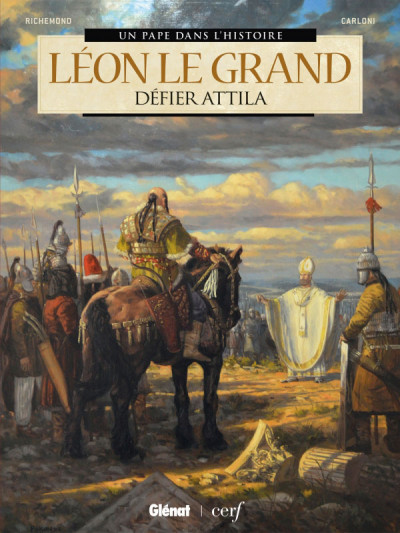 Couverture Léon le grand - Défier Attila