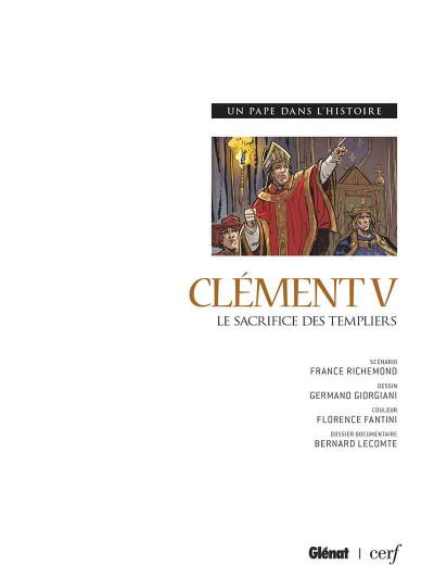 Page 2 Clément V - Le sacrifice des templiers