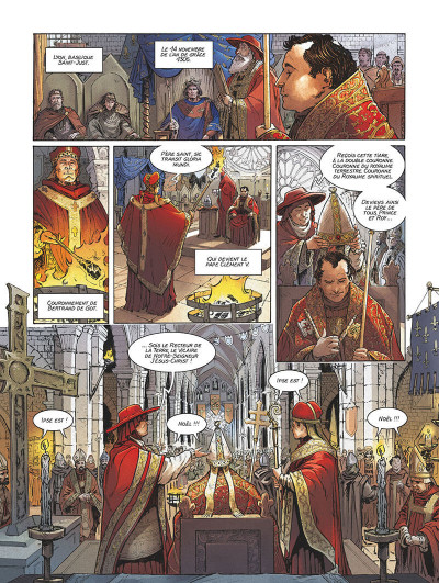 Page 4 Clément V - Le sacrifice des templiers