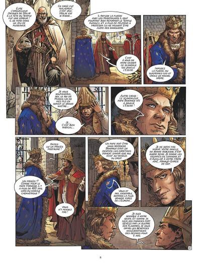 Page 9 Clément V - Le sacrifice des templiers