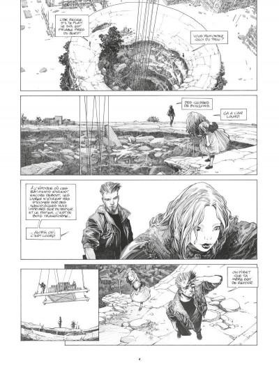 Page 2 La mort vivante - édition luxe n&b