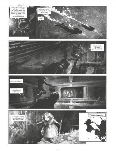 Page 4 La mort vivante - édition luxe n&b