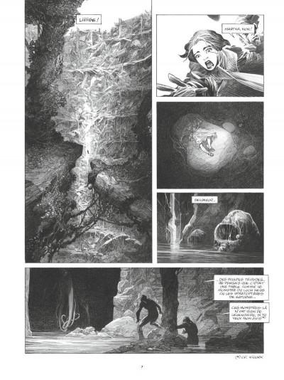 Page 5 La mort vivante - édition luxe n&b