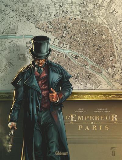 Couverture L'empereur de Paris