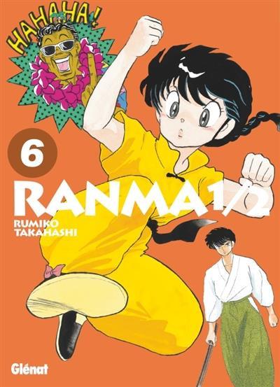 Couverture Ranma 1/2 - édition originale tome 6