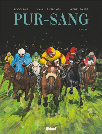 Couverture Pur-sang tome 2