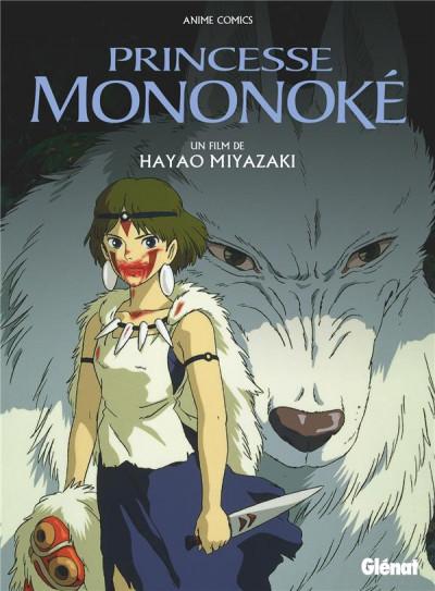 Couverture Princesse Mononoké - anime comics