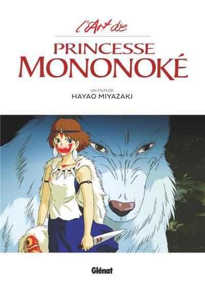 Couverture L'art de princesse Mononoké
