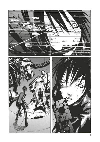 Page 7 Blame - deluxe tome 3