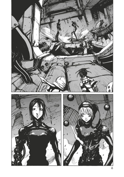 Page 7 Blame - deluxe tome 4