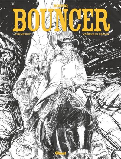 Couverture Bouncer - édition spéciale n&b tomes 10 et 11