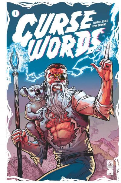Couverture Curse words tome 1