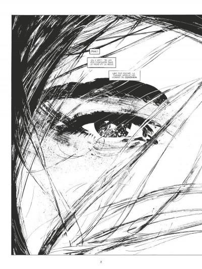 Page 1 Conan le Cimmérien - La fille du géant du gel (édition n&b)