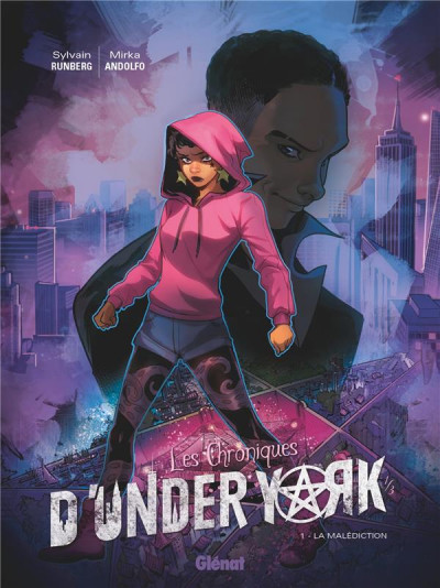 Couverture Les chroniques d'under york tome 1