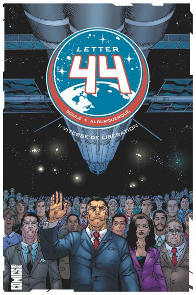 Couverture Letter 44 tome 1