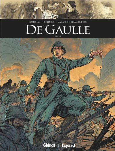 Couverture De Gaulle tome 1