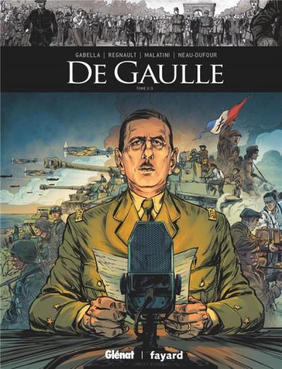 Couverture De Gaulle tome 2