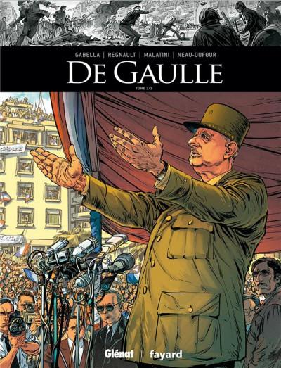 Couverture De Gaulle tome 3