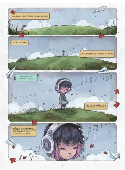 Page 6 Blue au pays des songes tome 1