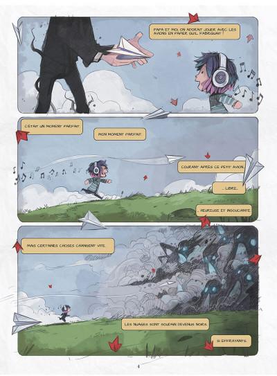 Page 7 Blue au pays des songes tome 1