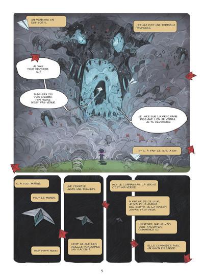 Page 8 Blue au pays des songes tome 1