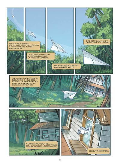 Page 9 Blue au pays des songes tome 1