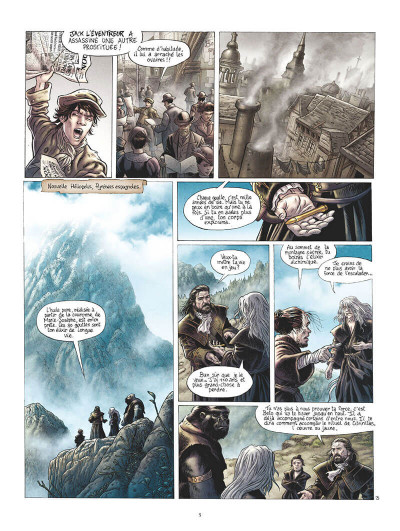 Page 8 Les chevaliers d'Heliopolis tome 4